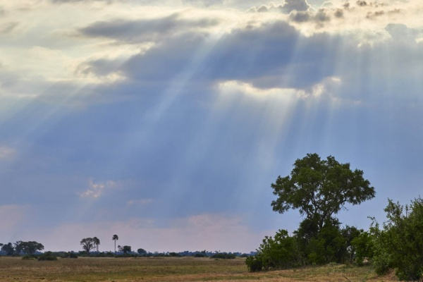 Regenwolken Zimbabwe