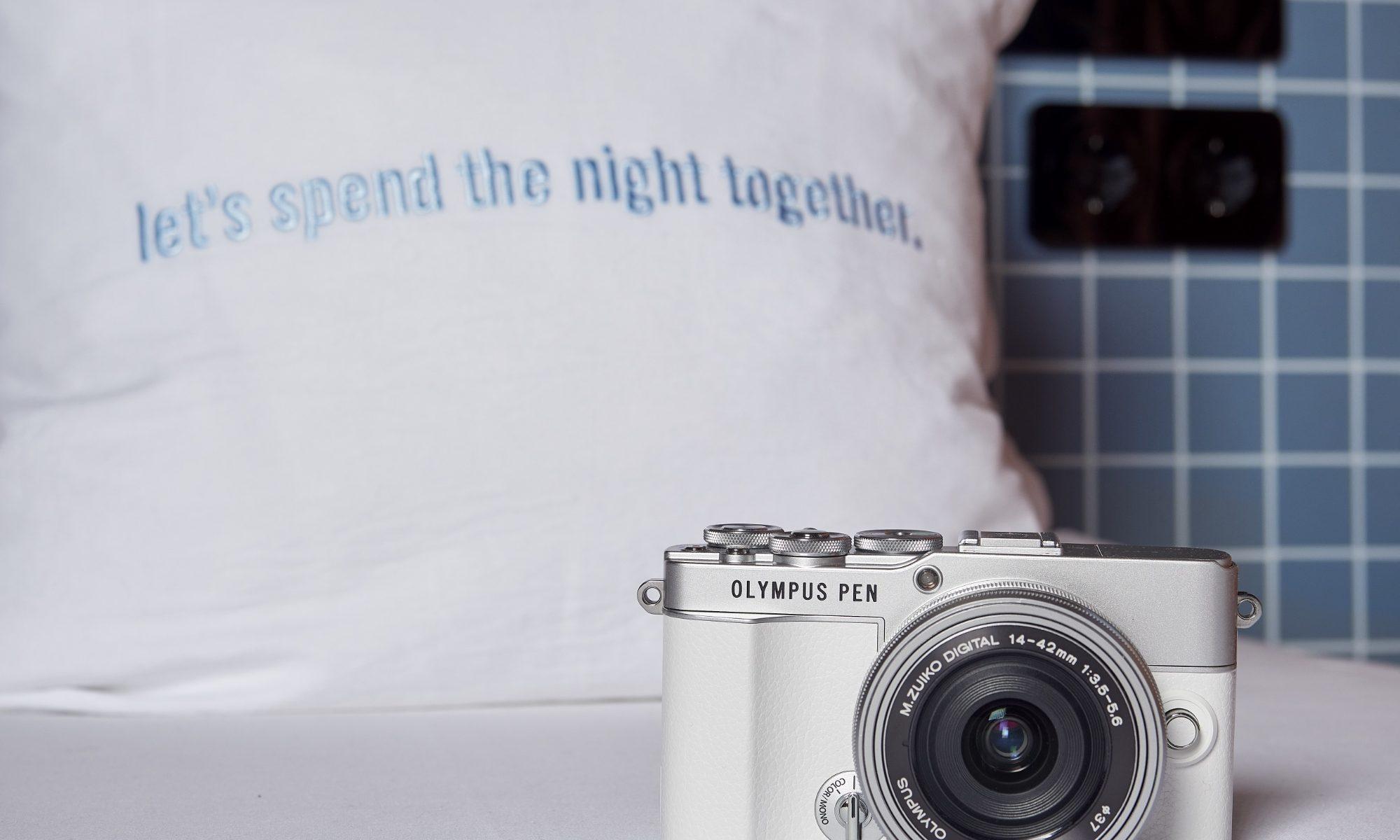 Bild der weißen Olympus PEN E-P7